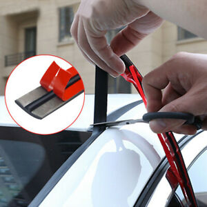 Car Windshield Roof Rubber Seal Noise Insulation Strip Sticker Car Accessory 2m