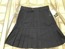 Us Polo Assn Scooter Skirt w/ Shorts Navy Blue Pleated Uniform size 12 New