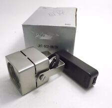 WAC JHT-802-BN/BK J Series Low Voltage Track Head - Brushed Nickel & Black - PPD