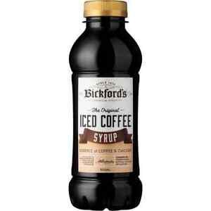 Bickford's Iced Coffee Syrup 500ml