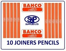 CARPENTERS PENCIL JOINERS PENCIL BUILDERS PENCIL PACK OF 10 PENCILS BAHCO BRAND