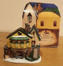 Dept. 56 Dickens Village The Grapes Inn Porcelain Ornament Nib