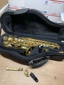 Jean Baptiste Alto Saxophone JB180AL With Case For Parts Or Repair