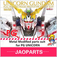 JAOparts Metal Modified parts set for Bandai PG 1/60 RX-0 Unicorn Gundam