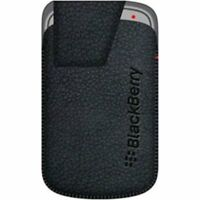 BlackBerry Leather Swivel Holster for Bold 9900/9930 - Black