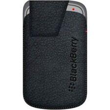 BlackBerry Leather Swivel Holster for Bold 9900/9930 - Black