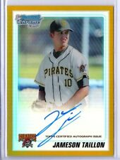 2010 JAMESON TAILLON Bowman Chrome Draft GOLD Refractor AUTO RC Rookie 24/50