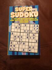 Super Sudoko Book Puzzle Book
