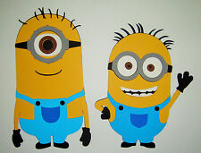 Minions Paper Die Cuts Scrapbook Minion Set of 2 Despicable Me