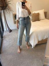 COUNTRY ROAD Women's Long Sleeved Slub T-Shirt - White - Medium