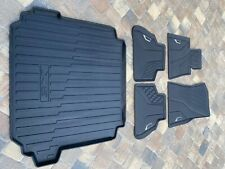 BMW X5 OEM All Weather Rubber Floor Mats Set of 5