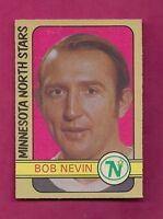 1972-73 OPC # 267 NORTH STARS BOB NEVIN  HIGH # EX-MT CARD (INV#5000)