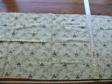 """OLD WORLD WEAVERS EMBROIDERY PETITE FLOWER COTTON 25""""x54"""" #2 Pbox 20"""