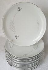 (12) Royal Heidelberg Winterling Germany Bavaria LIDO PATTERN DINNER PLATES MINT