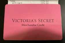 $174.22***Victoria's Secret Store or Online Merchandise Credit Gift Card