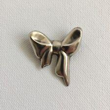 Vintage Sterling Silver 925 Bow Design Brooch