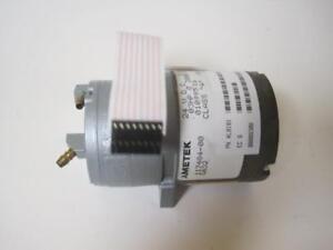 AMETEK 117484 G632 COMPRESSOR PUMP MOTOR USED REPLACEMENT FOR KENDALL 6325 PUMP