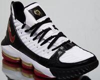 Nike LeBron XVI SB Remix Mens White Black Shoes Basketball Sneakers CD2451-101