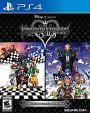 KINGDOM HEARTS HD 1.5 2.5 REMIX PS4  GIOCO ITA SCATOLA UK