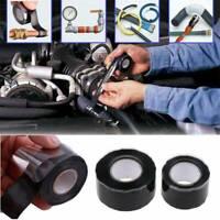 Black Rubber Silicone Repair Bonding Waterproof-Tape-Rescue-Self-Fusing-Wire Hot