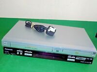 PANASONIC DVD Player / Video Recorder VHS Combo NV-VP33 Silver FAULTY SPARES