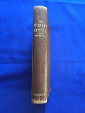 THE SCARLET LETTER - RE-CASED FIRST EDITION BY NATHANIEL HAWTHORNE