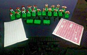 Vintage Tudor Electric Football Men 10 San Francisco 49ers 10 Cincinnati Bengals