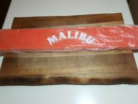 New Malibu Rum Bar Mat ORANGE AND IN EXCELLENT COND.FREE SHIP