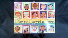 """eeBoo Corporation """"I Never Forget a Face!"""" Matching Game 2004 Ages 5+"""