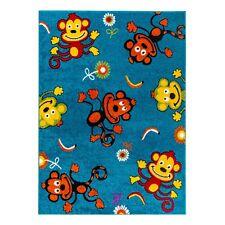 Kinder Teppich mit Affe- Muster Kurzflor Kinderzimmer. Guter Preis-1933B