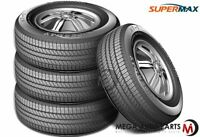 4 Supermax HT-1 HT1 LT245/75R16 120/116S E/10-Ply All Season Tires For SUV/Truck