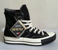 NWOBX CONVERSE UNISEX GORE-TEX BLACK SHOES MEN SZ 5 WOMEN SZ 7