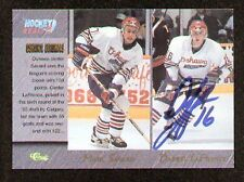 Darryl LaFrance signed autographed Classic Hockey Card