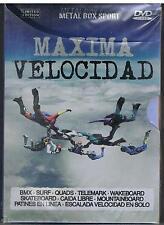 MAXIMA VELOCIDAD - QUADS CAIDA LIBRE PATINES  - METAL BOX SPORT - SPAGNOLO - DVD