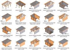 Carport Bauplan In Bauplane Gunstig Kaufen Ebay
