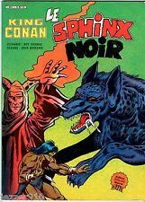KING CONAN ° LE SPHINX NOIR ° 1984 ° ARTIMA COLOR MARVEL GEANT