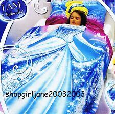 Disney Princess - I am Cinderella-Double/US Full Bed Quilt Doona Duvet Cover Set