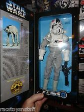 """RARE STAR WARS 12"""" AT-AT DRIVER EXCLUSIVE SERVICE MERCHANDISE FIGURE MIB"""
