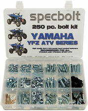 Yamaha ATV Bolt Kit YFZ450 YFZ 450 SPECBOLT 250 pc fasteners plastic body engine