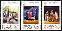 Pitcairn Islands 1977 Silver Jubilee MNH Set #R349