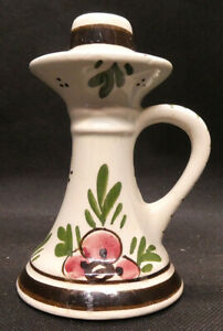 Delft Candle Holder from the Delftse Pauw Pottery Holland