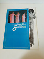 AN EVENING WITH DIANA ROSS AND THE SUPREMES CONCERT PROGRAM (1968) MOTOWN RARE