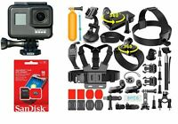 GoPro HERO7 Black 4K HD 12MP Wide Angle Waterproof Touch-Screen Action Camera