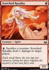FOIL Scorched Rusalka NM X4 Modern Masters 2017 Red Common MTG FOIL