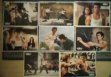 "Bruce Lee Greek Way Of The Dragon Lobby Card Set 10"" x 13,5"""