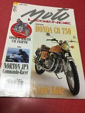 Motorcycle Legend Magazine 26 1993 Notron Jpn Honda CB750 BMW R1100RS Montesa