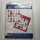 Patriotic 12 Card Bingo Game 4th of July 17 Pieces Ages 3+
