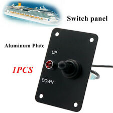12Volts Aluminum Anchor Winch Windlass Switch UP/DOWN Toggle Control Panel W/LED