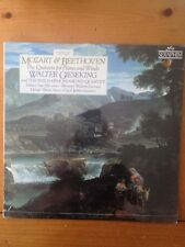 NEW lp: WALTER GIESEKING: Mozart & Beethoven: QUNTETS FOR PIANO & WINDS