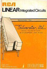 RCA Linear Integrated Circuits * SSD-201C * CDROM * PDF